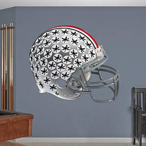 Ohio State Buckeyes Helmet Fathead Wall Decal
